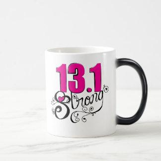 13.1 Strong Half Marathon Coffee Mug