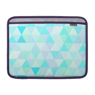 13 inch Blue Geometric Triangles Sleeve For MacBook Air