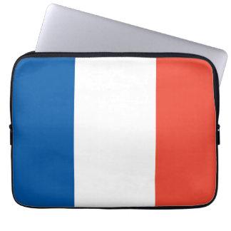 "13"" laptop bag France flag Laptop Sleeves"