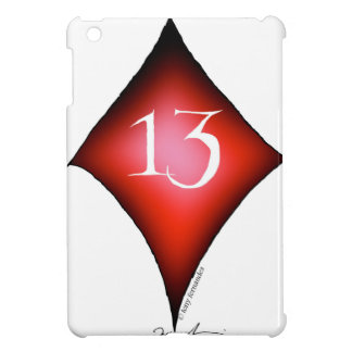 13 of diamonds iPad mini cover