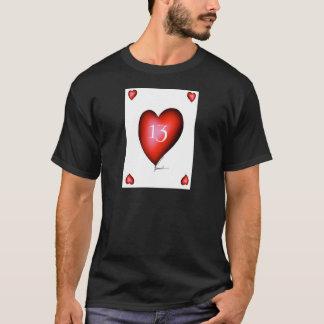 13 of Hearts T-Shirt