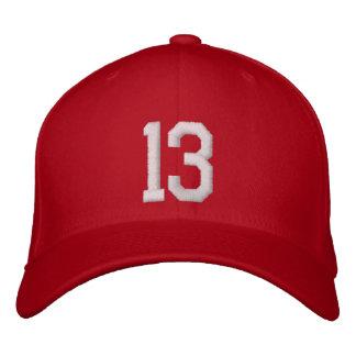 13 Thirteen Embroidered Hat