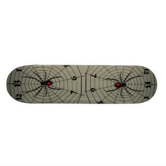 13 Thirteen Hour Spider Clock 21.6 Cm Skateboard Deck
