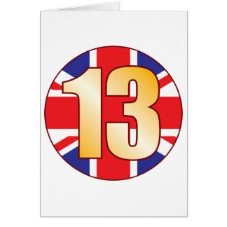 13 UK Gold Card