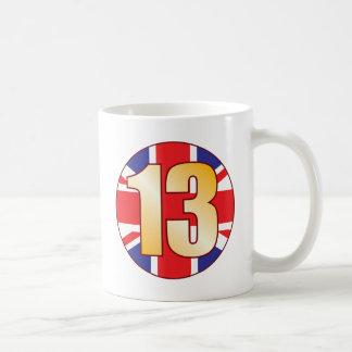 13 UK Gold Coffee Mug