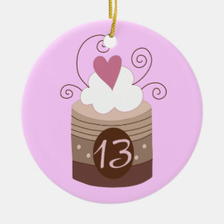 13th Birthday Gift Ideas For Her Ceramic Ornament