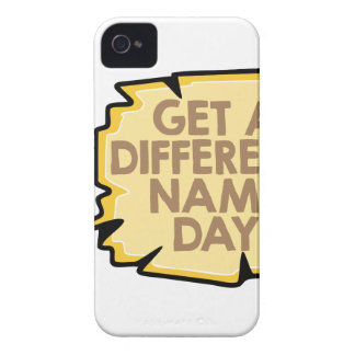 13th February - Get A Different Name Day iPhone 4 Cases