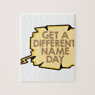 13th February - Get A Different Name Day Jigsaw Puzzle