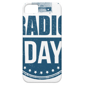 13th February - Radio Day - Appreciation Day iPhone 5 Covers