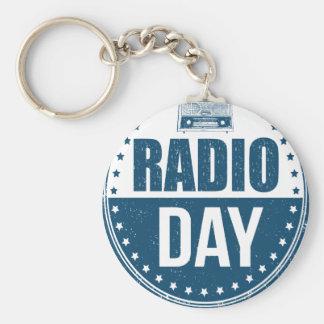 13th February - Radio Day - Appreciation Day Key Ring