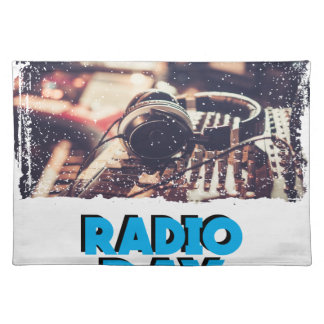 13th February - Radio Day - Appreciation Day Placemat