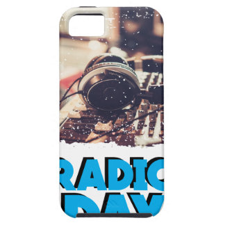 13th February - Radio Day - Appreciation Day Tough iPhone 5 Case