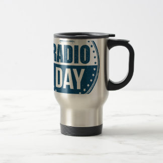 13th February - Radio Day - Appreciation Day Travel Mug
