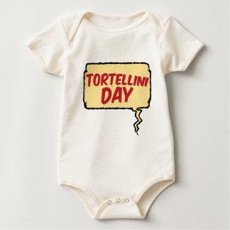 13th February - Tortellini Day - Appreciation Day Baby Bodysuit