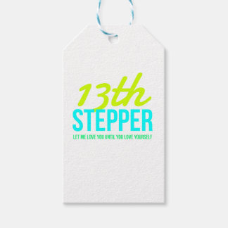 13th Step Sobriety Fellowship Recovery Gift Tags