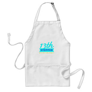 13th Step Sobriety Fellowship Recovery Standard Apron