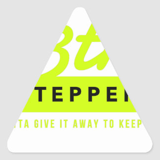 13th Step Sobriety Fellowship Recovery Triangle Sticker