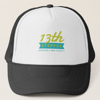 13th Step Sobriety Fellowship Recovery Trucker Hat