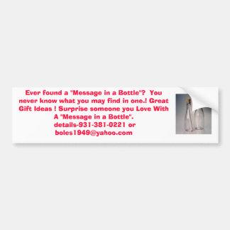1410bottle2, Ever found a Bumper Sticker