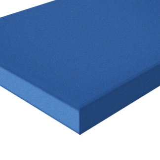 1411 darker ocean blue solid color canvas backgrou canvas print
