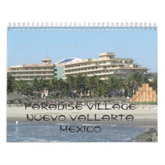 141, Paradise Village Nuevo Vallarta Mexico Calendar