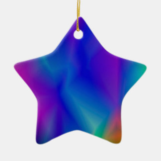 143Gradient Pattern_rasterized Ceramic Ornament