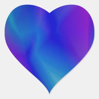 143Gradient Pattern_rasterized Heart Sticker