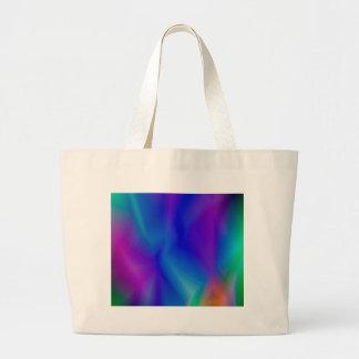 143Gradient Pattern_rasterized Large Tote Bag