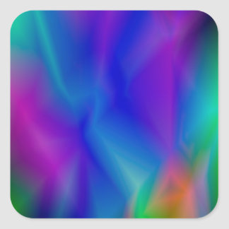 143Gradient Pattern_rasterized Square Sticker