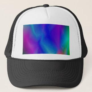 143Gradient Pattern_rasterized Trucker Hat