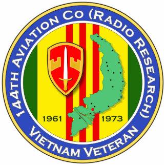 144th Avn Co RR 1b - ASA Vietnam Photo Sculptures