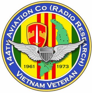 144th Avn Co RR 3b - ASA Vietnam Photo Sculpture