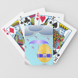 146Easter Egg_rasterized Bicycle Playing Cards