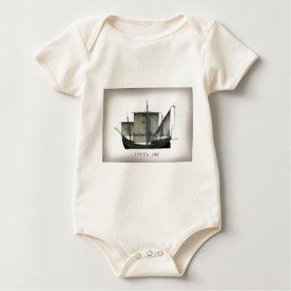 1492 Pinta tony fernandes Baby Bodysuit