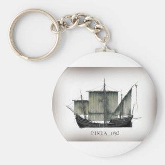 1492 Pinta tony fernandes Key Ring