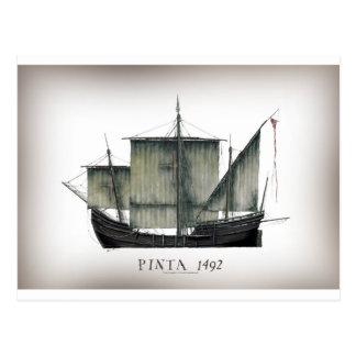 1492 Pinta tony fernandes Postcard