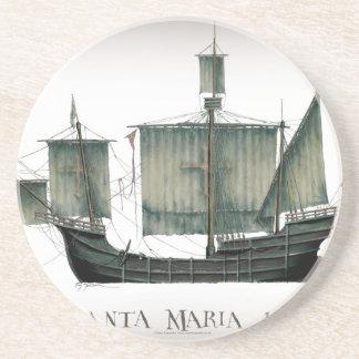 1492 Santa Maria by Tony Fernandes Coaster