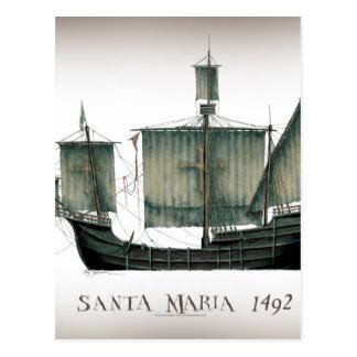 1492 Santa Maria by Tony Fernandes Postcard