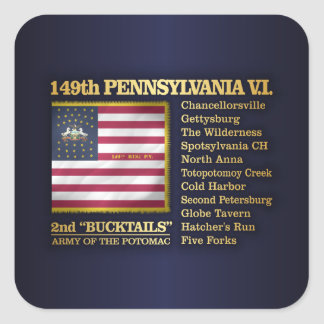 149th Pennsylvania VI (BH) Square Sticker