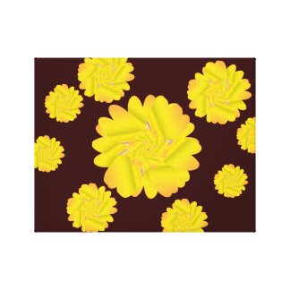 14.05.27.82.CANVAS WALL HANGING FLORAL STRETCHED CANVAS PRINT