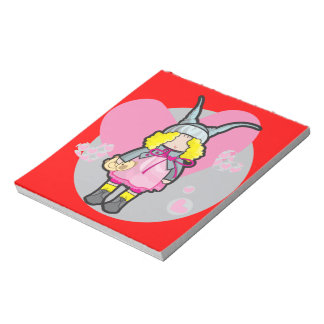 "14 cm x 15.2 cm (5.5"" x 6"") Notepad - 40 pages"