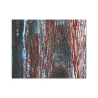 "14"" x 11"", 1.5"", A Hint of Blue - canvas print"