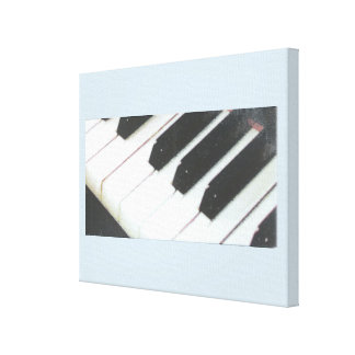 14 x 11 1.5 inch Piano canvas. Canvas Print