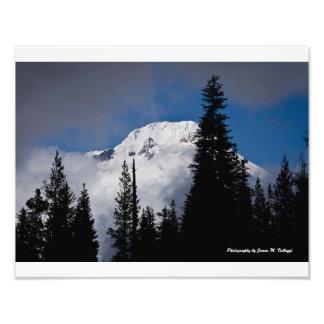 "14"" x 11"" Mount Hood from Trillium Lake Photograph"