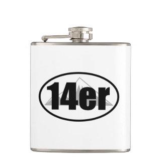 14er hip flask