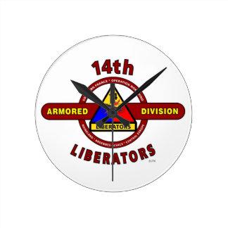 "14TH ARMORED DIVISION ""LIBERATORS"" WW II CLOCKS"