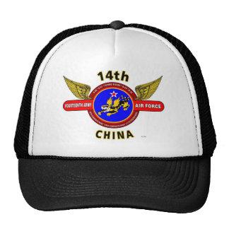 """14TH ARMY AIR FORCE """"ARMY AIR CORPS"""" WW II CAP"""