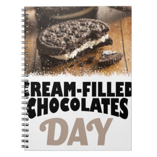 14th February - Cream-Filled Chocolates Day Note Book