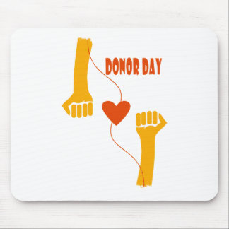 14th February - Donor Day - Appreciation Day Mouse Pad