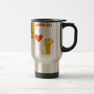 14th February - Donor Day - Appreciation Day Travel Mug
